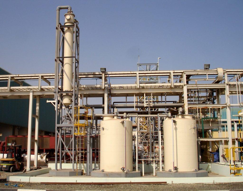 Chemical Manufacturing in Abu Dhabi, UAE | Parson UK