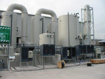 wessex waste water sludge treatment plant