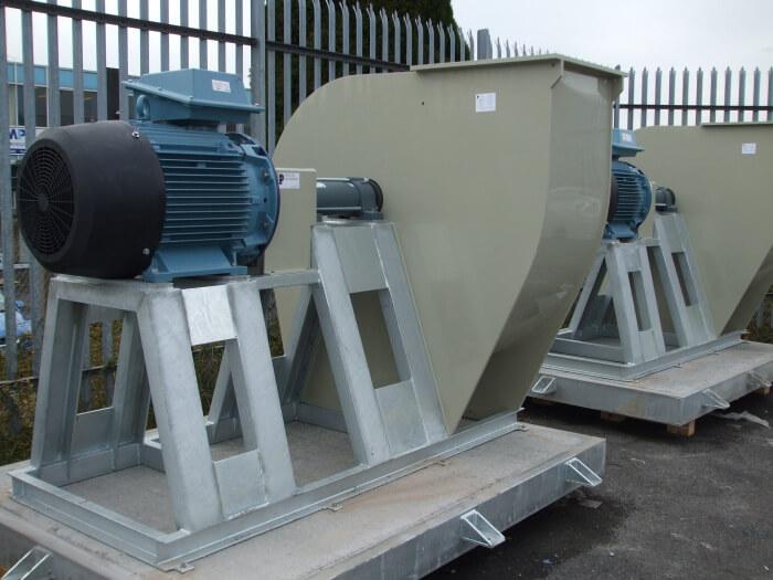 industrial fan for workplace ventilation